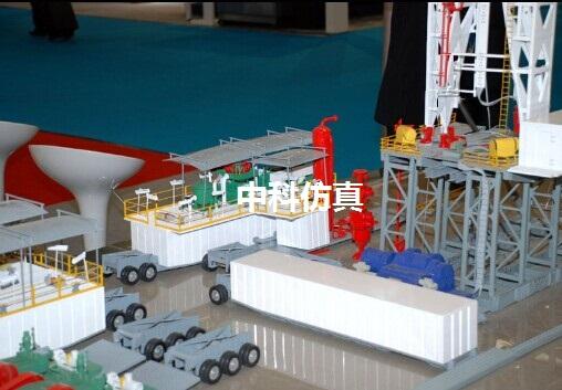 石油采油设备模型